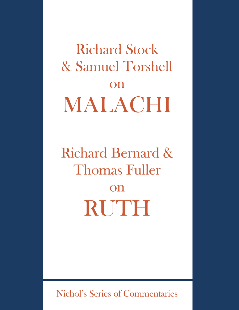 Malachi & Ruth